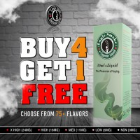 Buy 4 Get 1 Free e Liquid Bulk Deal
