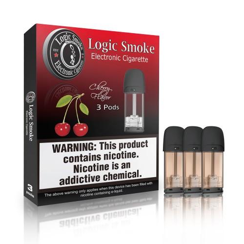Logic Smoke Cherry Replacement Pods