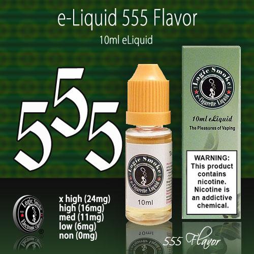 LogicSmoke 10ml 555 Flavor e Liquid