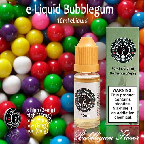 LogicSmoke 10ml Bubblegum Flavor e Liquid