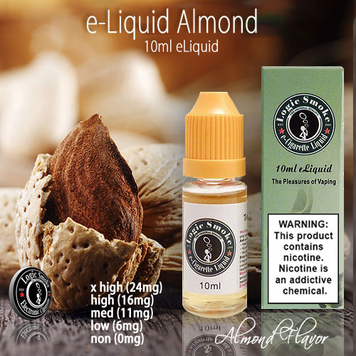 LogicSmoke 10ml Almond Flavor e Liquid
