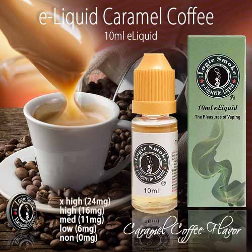 LogicSmoke 10ml e Liquid Caramel Coffee Flavor