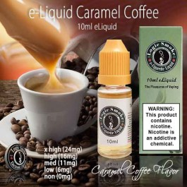 LogicSmoke 10ml e Liquid Caramel Coffee Flavor