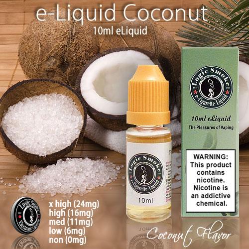 LogicSmoke 10ml Coconut Flavor e Liquid