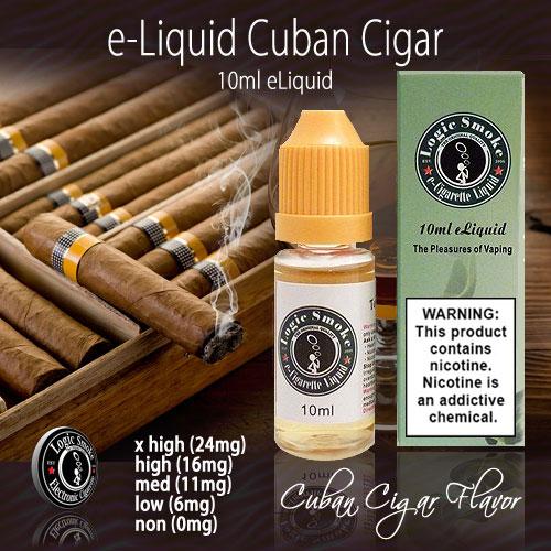 LogicSmoke 10ml Cuban Cigar e Liquid