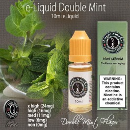 LogicSmoke 10ml Green Mint (Double Mint) e Liquid