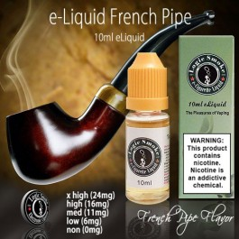 LogicSmoke 10ml French Pipe e Liquid
