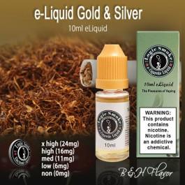 LogicSmoke 10ml Gold & Silver Flavor e Liquid