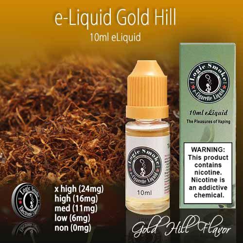 LogicSmoke 10ml e Liquid Gold Hill Flavor