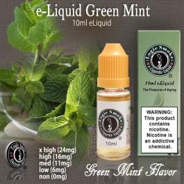 LogicSmoke 10ml Green Mint (Double Mint) e Liquid
