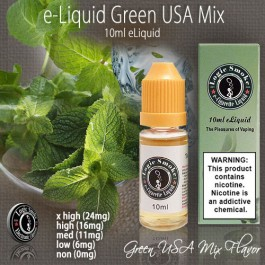 LogicSmoke 10ml Green USA Mix e Liquid