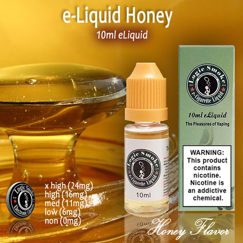 LogicSmoke 10ml Honey Flavor e Liquid