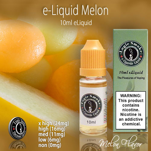 LogicSmoke 10ml Melon e Liquid