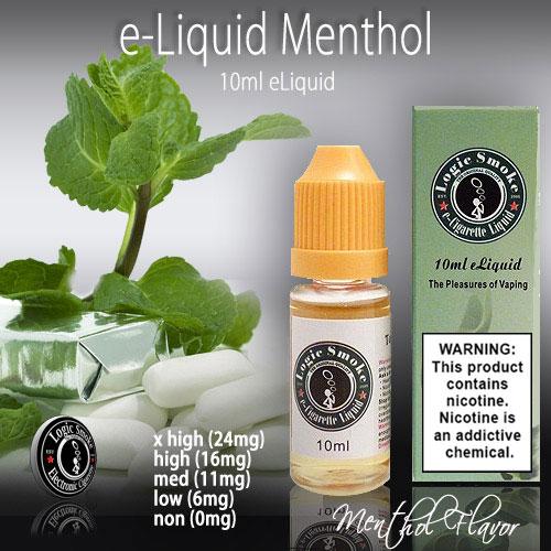 LogicSmoke 10ml Menthol e Liquid