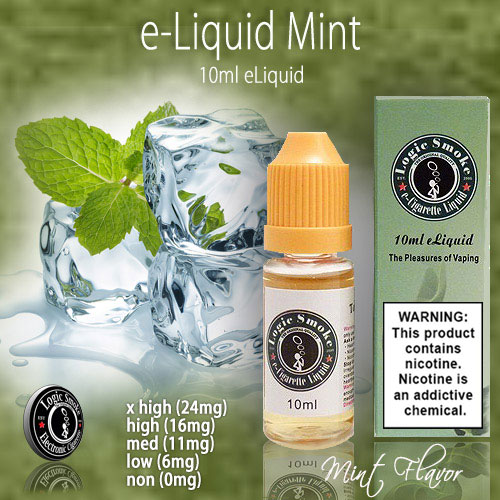 LogicSmoke 10ml Mint e Liquid
