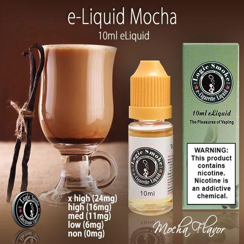 LogicSmoke 10ml Mocha e Liquid