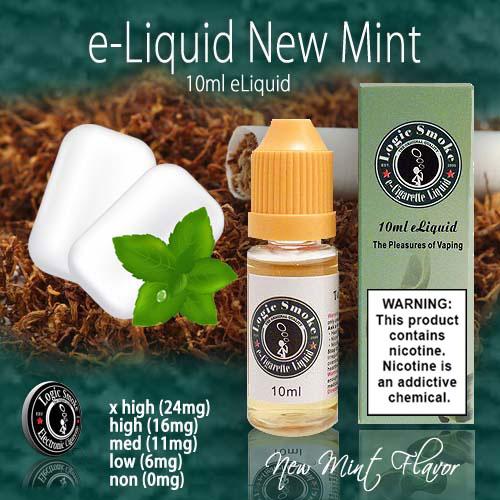 LogicSmoke 10ml New Mint e Liquid