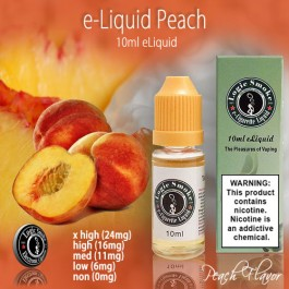 LogicSmoke 10ml Peach e Liquid