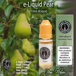 LogicSmoke 10ml Pear Flavor e Liquid