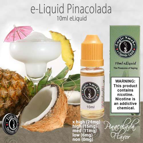 LogicSmoke 10ml Pina Colada e Liquid