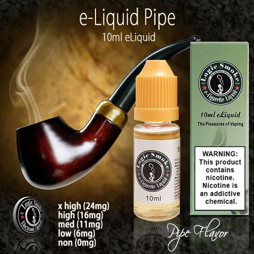 LogicSmoke 10ml Pipe e Liquid
