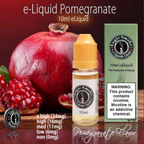 LogicSmoke 10ml Pomegranate e Liquid