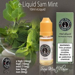LogicSmoke 10ml Sam Mint e Liquid