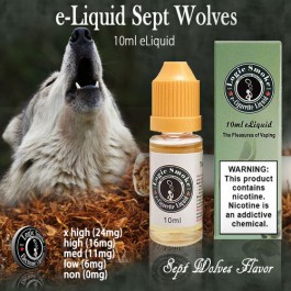 LogicSmoke 10ml Sept-Wolves e Liquid