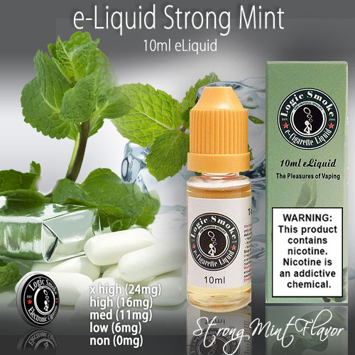 LogicSmoke 10ml Strong Mint e Liquid