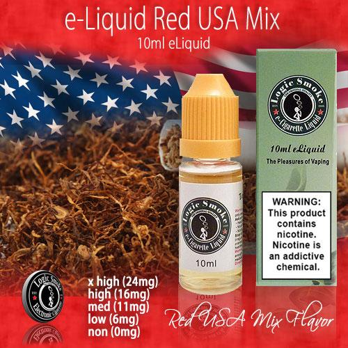 Logic Smoke 10ml Red USA Mix e Liquid