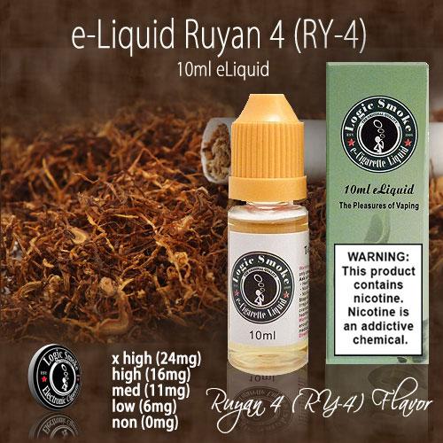 LogicSmoke 10ml Ruyan 4 (RY-4) e Liquid
