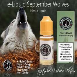 LogicSmoke 10ml Sept-Wolves e Liquid