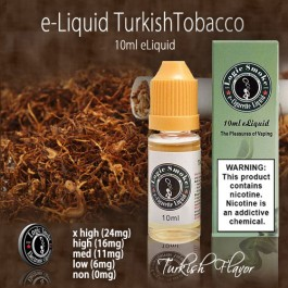 LogicSmoke 10ml Strong Turkish Tobacco e Liquid