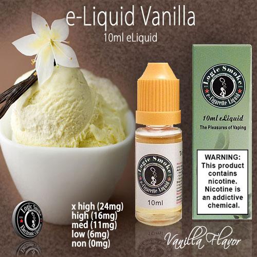 LogicSmoke 10ml Vanilla e Liquid