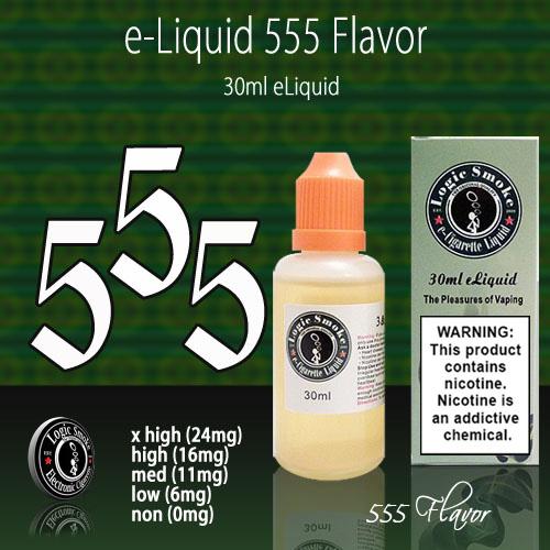LogicSmoke 30ml 555 e Liquid