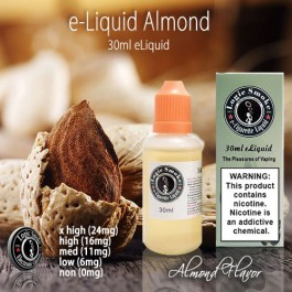 LogicSmoke 30ml Almond e Liquid