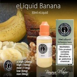LogicSmoke 30ml Banana e Liquid
