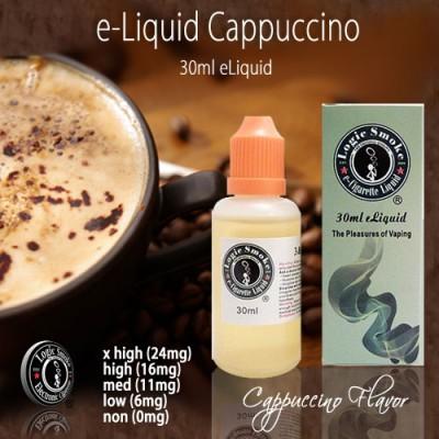 LogicSmoke 30ml Cappuccino e Liquid