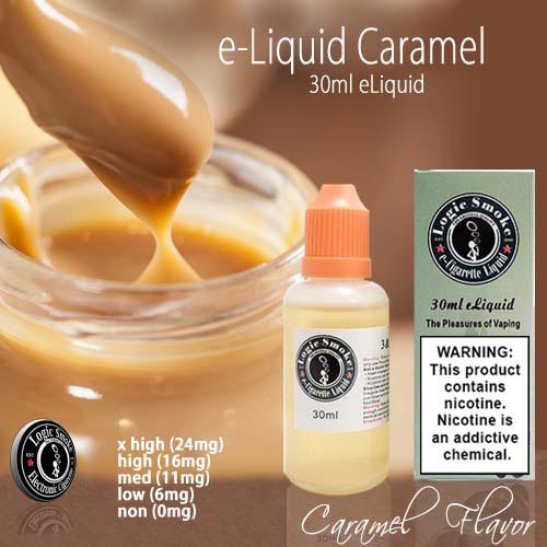 LogicSmoke 30ml Caramel e Liquid