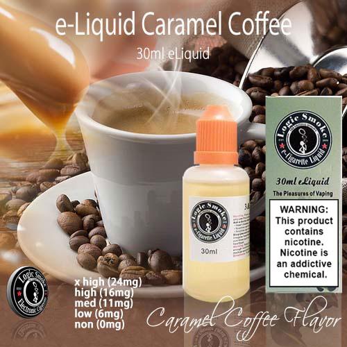 LogicSmoke 30ml Caramel Coffee e Liquid