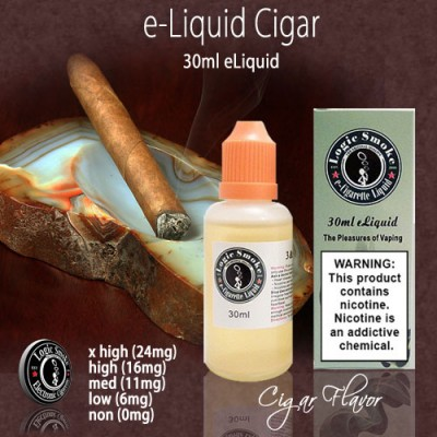 LogicSmoke 30ml Cigar e Liquid