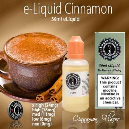LogicSmoke 30ml e Liquid Cinnamon Flavor