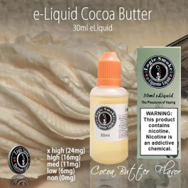 LogicSmoke 30ml Cocoa Butter e Liquid