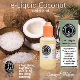 LogicSmoke 30ml Coconut e Liquid