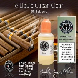 LogicSmoke 30ml Cuban Cigar e Liquid