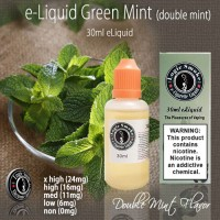 LogicSmoke 30ml Green Mint (Double Mint) e Liquid