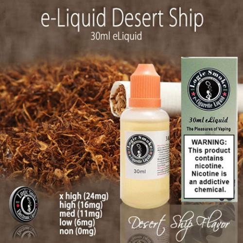 LogicSmoke 30ml Desert Ship e Liquid