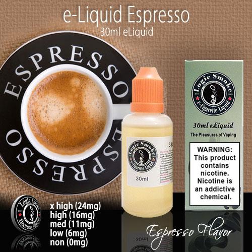 LogicSmoke 30ml Espresso e Liquid