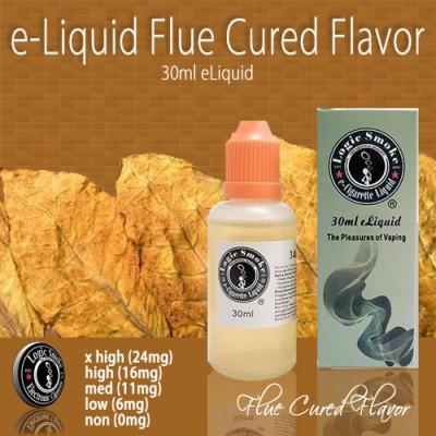 LogicSmoke 30ml Flue Cured e Liquid