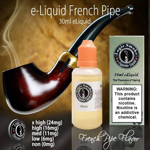 LogicSmoke 30ml French Pipe e Liquid